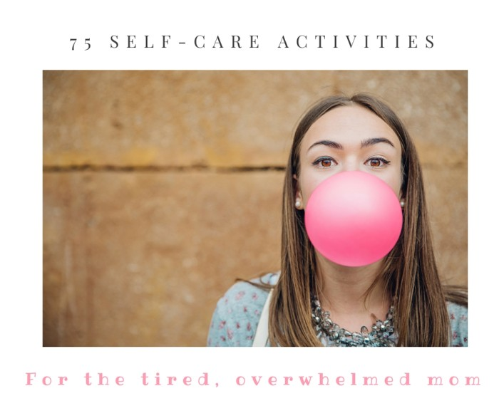 75 self-care activities cover